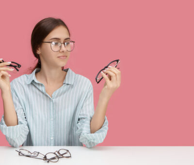 Choosing glasses for a specific type of face