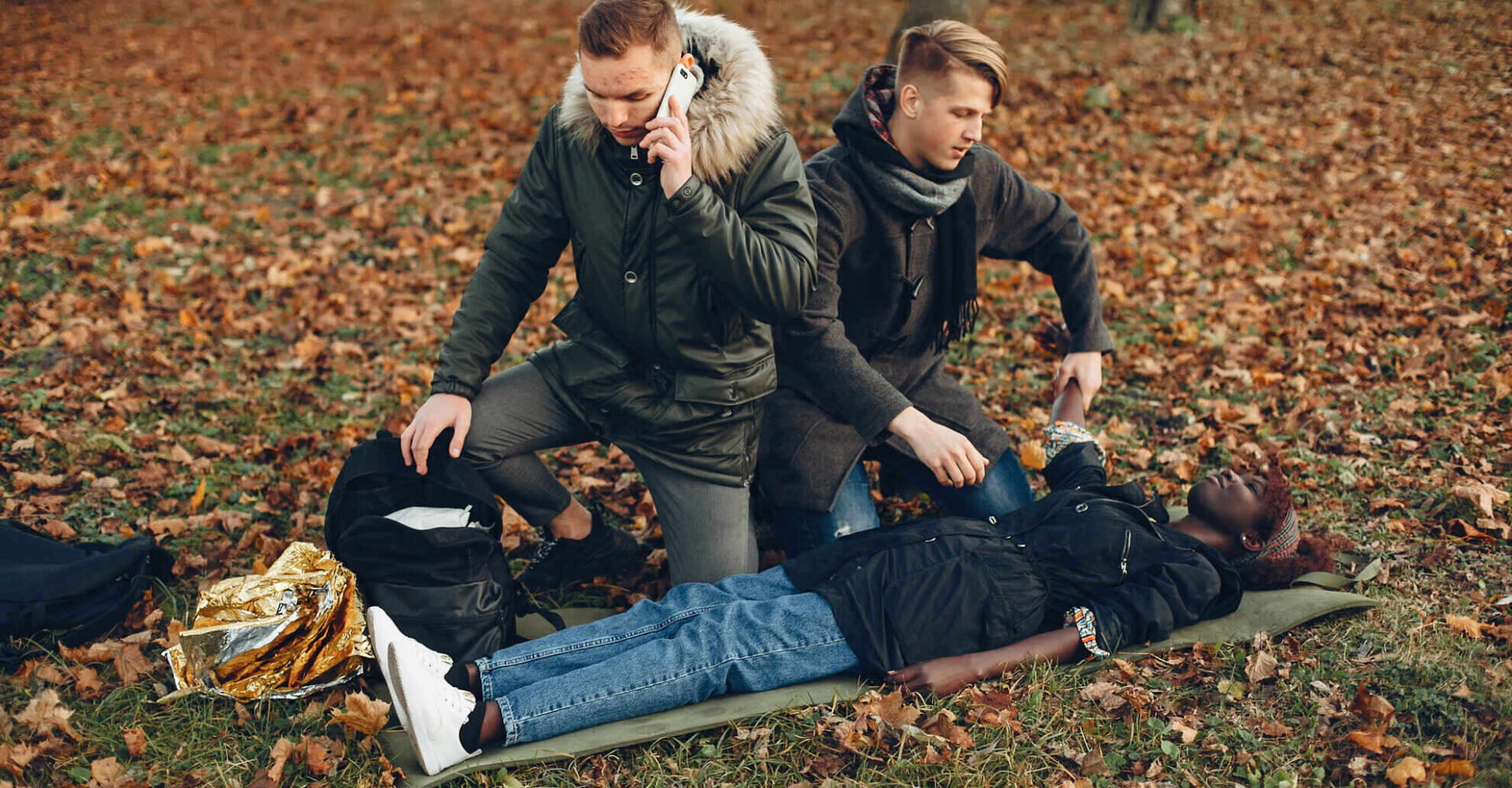 First aid for fainting
