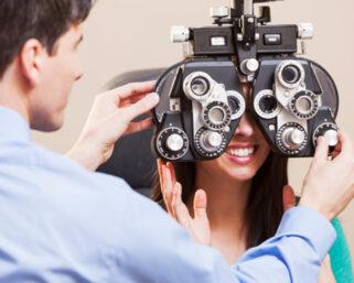 Eye aberration or strabismus , treatment strategies