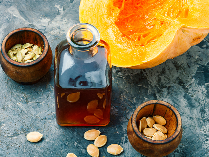 What is the benefit of Pumpkin's seed oil?