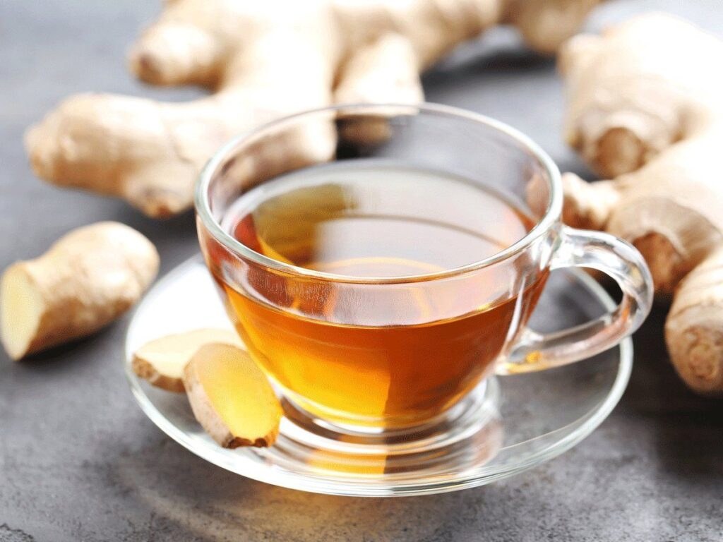 Three ingredient health tonic healing elixir (Turmeric root, Lime, Ginger Root)