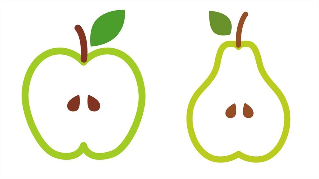 Everything you need know about Apple shape and Pear shape obesity